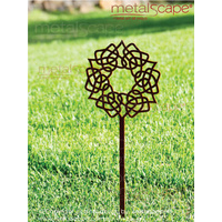 Celtic Circular Knot on spike - Medium