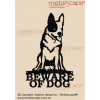 Beware of Cattle Dog