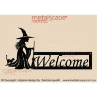 Witch Welcome Sign