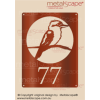 Customised House Number Kookaburra