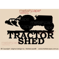 Tractor Shed Sign - Massey Ferguson